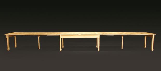 Tisch esstisch holztisch massivholz esszimmer for Esstisch xxl